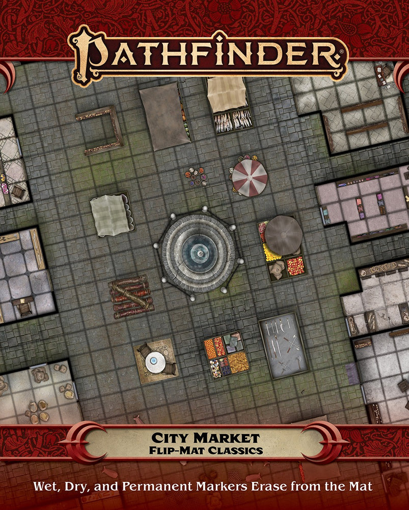 Pathfinder City Market Flip-Mat Classics - Pastime Sports & Games