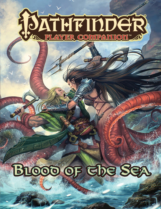 Pathfinder Player Companion Blood Of The Sea - Pastime Sports & Games