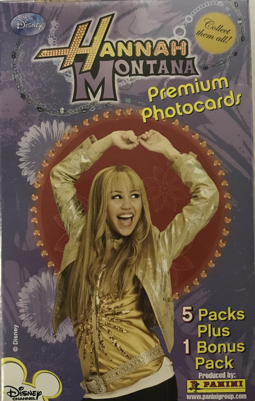 Panini Hannah Montana Premium Photocards Blaster Box - Pastime Sports & Games