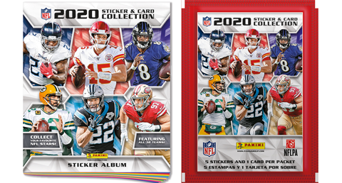 2020 Panini Football Sticker Collection - Pastime Sports & Games