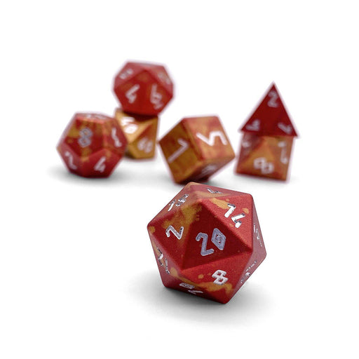 Norse Foundry 7pc RPG Wondrous Dice Set Phoenix Tears - Pastime Sports & Games