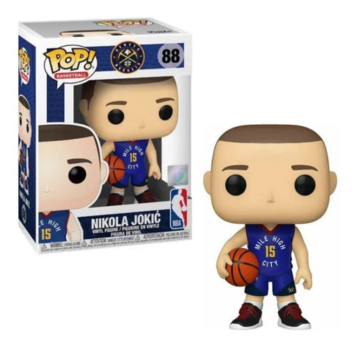 Funko Pop! NBA Basketball Denver Nuggets Nikola Jokic #88 - Pastime Sports & Games