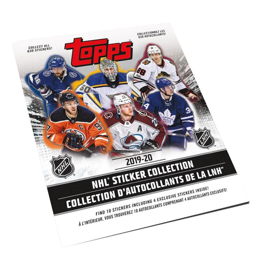 2019/20 Topps NHL Sticker Collection Book - Pastime Sports & Games