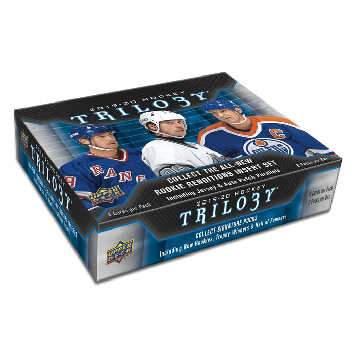 2019/20 Upper Deck Trilogy Hockey Hobby - Pastime Sports & Games
