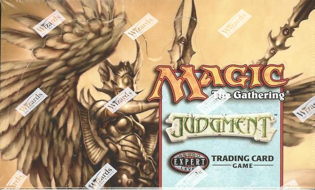 Magic The Gathering Judgment Booster - Pastime Sports & Games