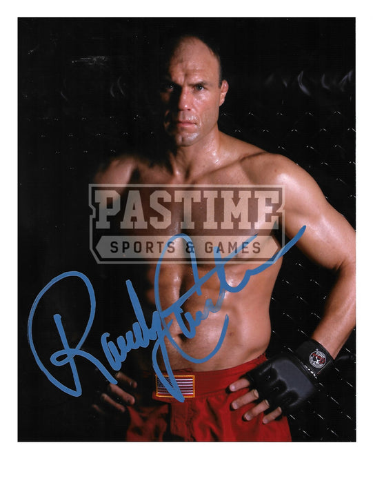Randy Couture Autographed 8X10 UFC (Hands On Hips Pose 1) - Pastime Sports & Games