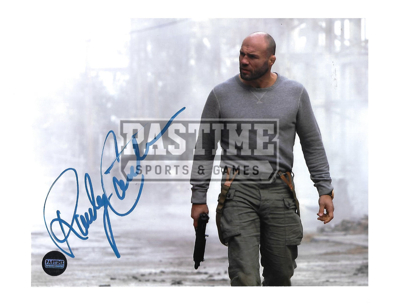 Randy Couture Autographed 8X10 UFC (The Expendables 2) - Pastime Sports & Games
