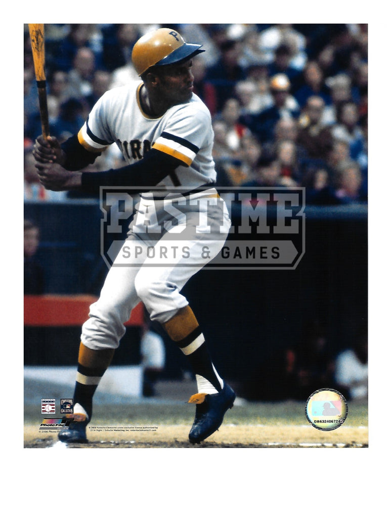 Roberto Clemente 8X10 Pittsburgh Pirates (At Bat) - Pastime Sports & Games