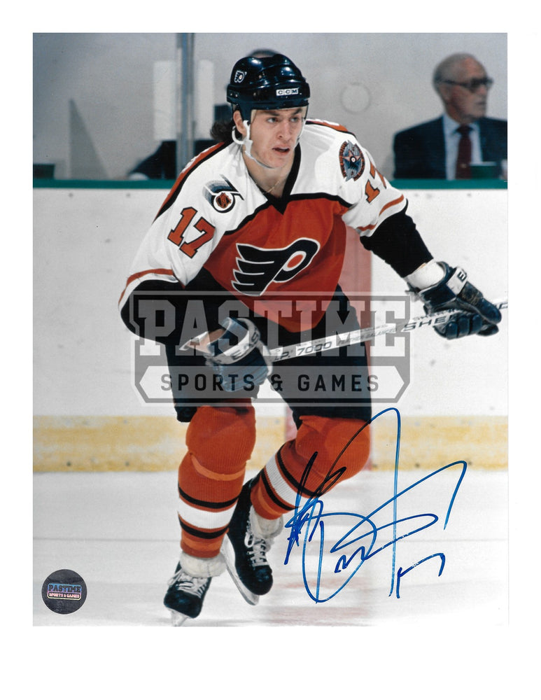 Rob Brind'amour Autographed 8X10 Philladelphia Fylers Home Jersey (Skating) - Pastime Sports & Games