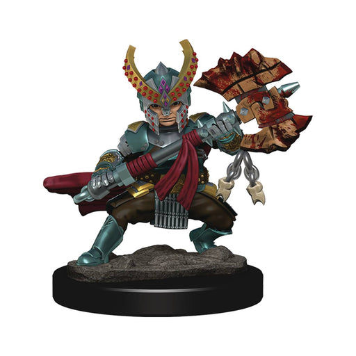 D&D Icons of the Realms Premium Miniatures Female Halfling Fighter - Pastime Sports & Games