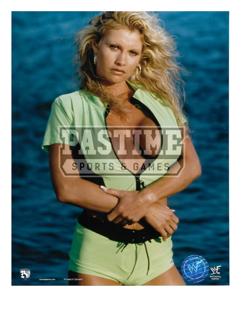 Sable 8X10 WWF (Pose On Beach) - Pastime Sports & Games