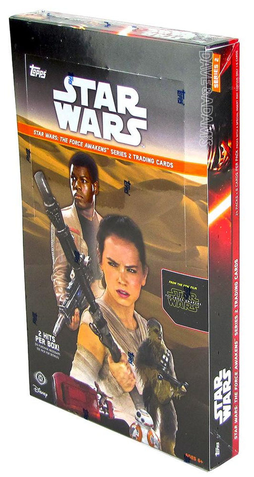 2016 Topps Star Wars The Force Awakens Series 2 Hobby - Pastime Sports & Games