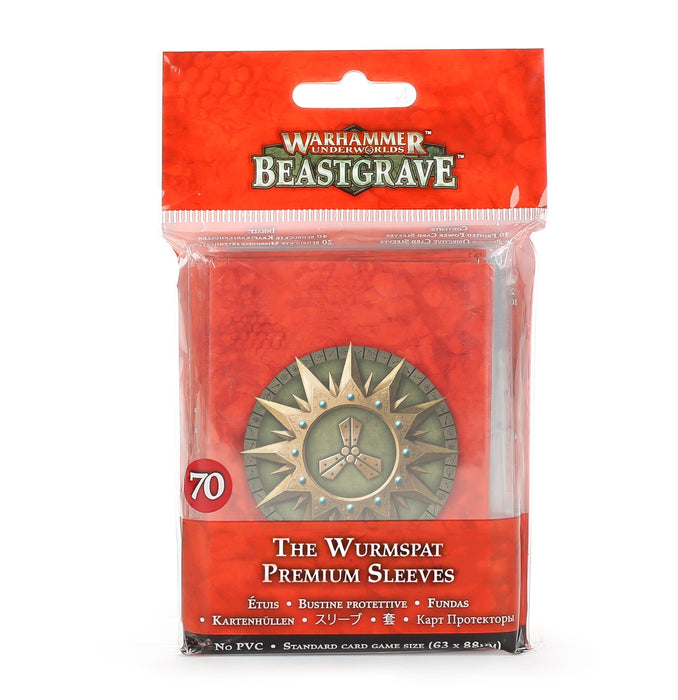 Warhammer Beastgrave Premium Sleeves 70ct - Pastime Sports & Games
