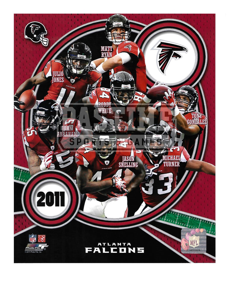 Atlanta Falcons 8X10 Player Montage (2011) - Pastime Sports & Games