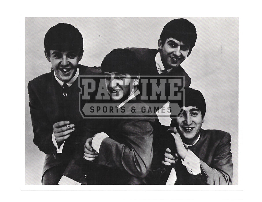 The Beatles 8X10 Black and White (Group Shot Pose 2) - Pastime Sports & Games