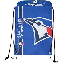 Toronto Blue Jays Baseball Drawstring Bag (FOCO Blue) - Pastime Sports & Games