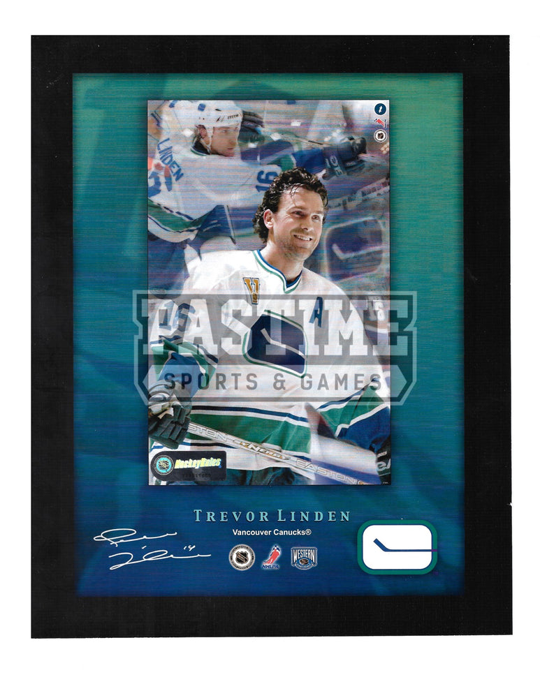 Trevor Linden 8X10 Vancouver Caucks Away Jersey (Photo Montage) - Pastime Sports & Games