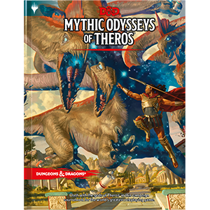 Dungeons & Dragons Mythic Odysseys of Theros - Pastime Sports & Games