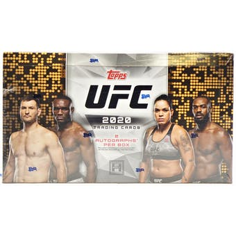 2020 Topps UFC Hobby Box - Pastime Sports & Games