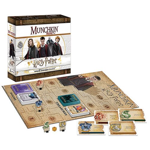 Munchkin Deluxe Harry Potter - Pastime Sports & Games