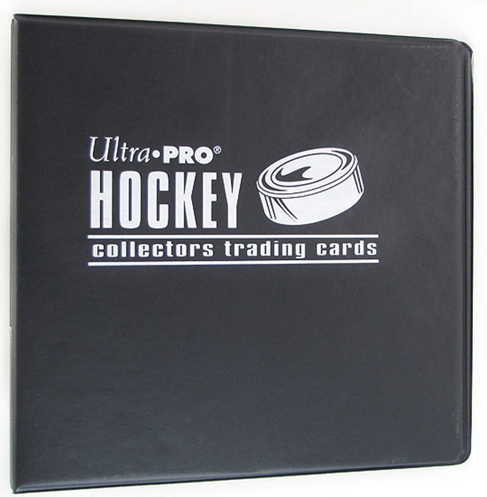 "Ultra Pro 3"" Black Hockey Card Collectors Album - Pastime Sports & Games"