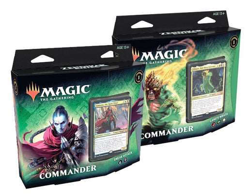 Magic The Gathering Zendikar Rising Commander Decks - Pastime Sports & Games