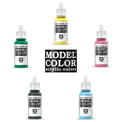 Vallejo Model Color Paint (001 to 100) - Pastime Sports & Games