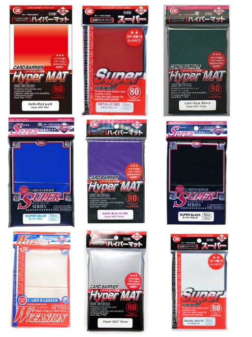 KMC Standard Size Sleeves - Pastime Sports & Games
