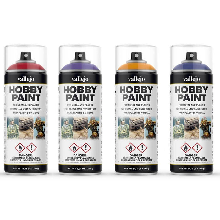 Vallejo Fantasy Colour Spray Paint - Pastime Sports & Games