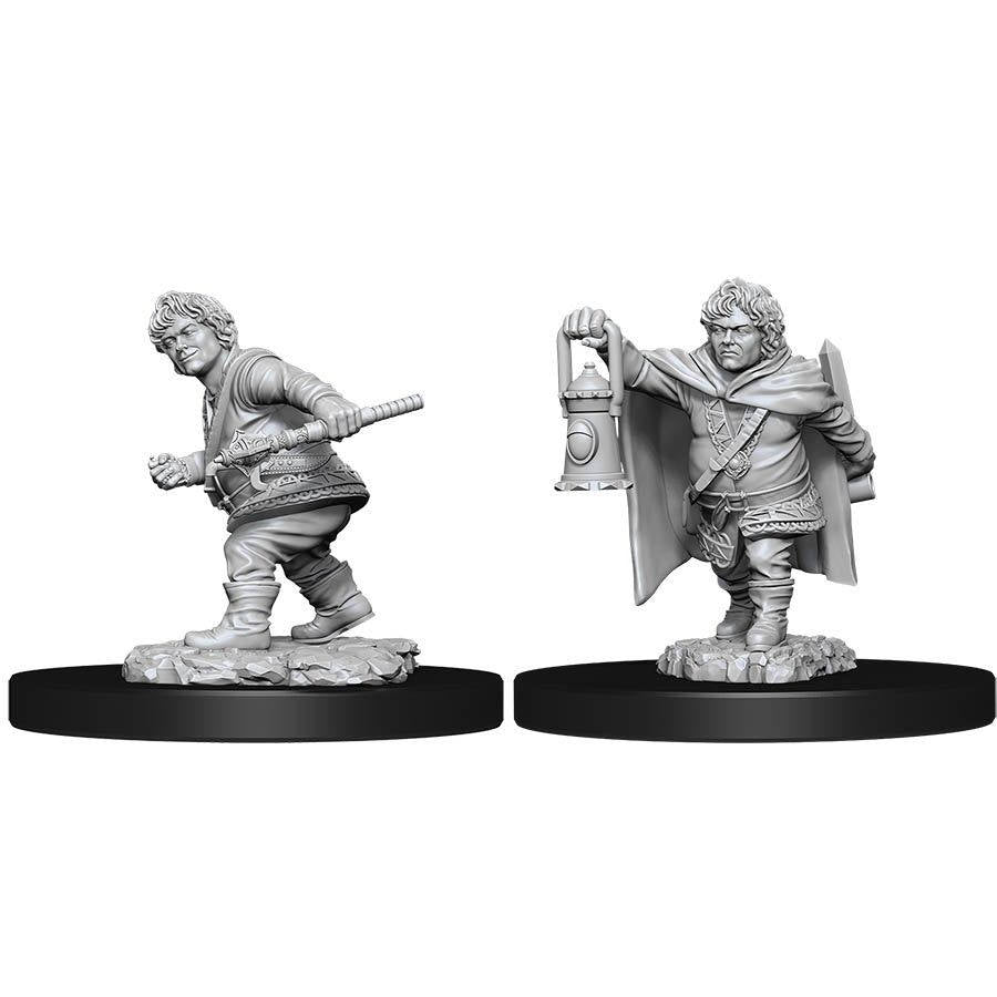 D&D Nolzur's Marvelous Miniatures Male Halfling Rogue W11 (90006) - Pastime Sports & Games