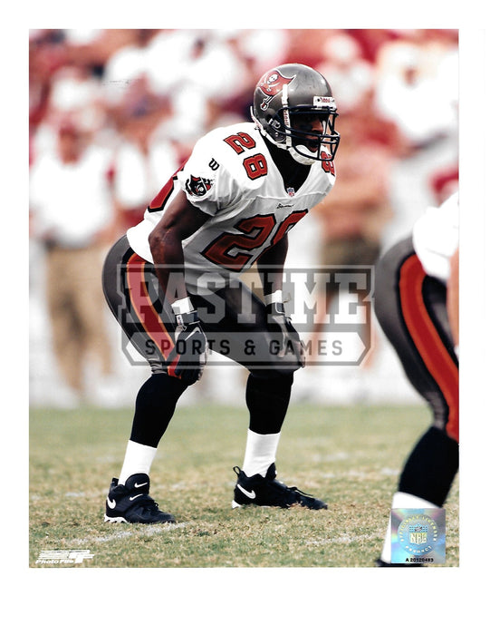 Warrick Dunn 8X10 Tampa Bay Buccaneers (Ready) - Pastime Sports & Games