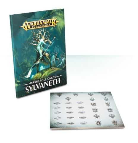 Warhammer Age Of Sigmar Warscroll Cards Sylvaneth (92-03-60) - Pastime Sports & Games