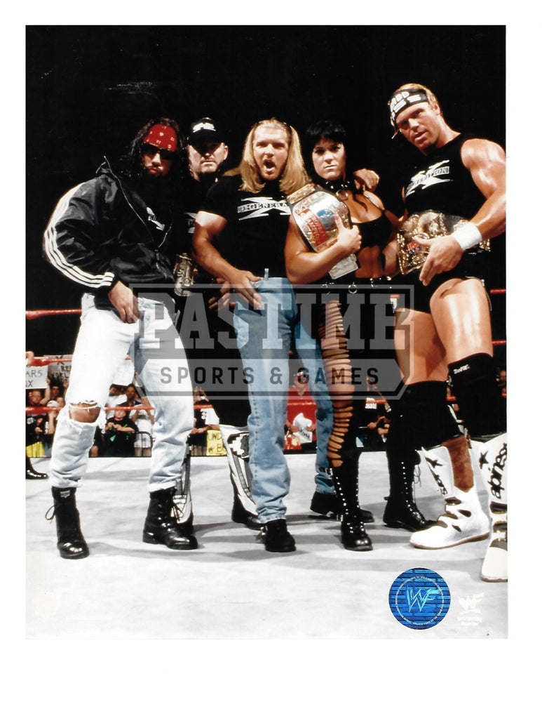WWF 8X10 Wrestling (Group Shot) - Pastime Sports & Games