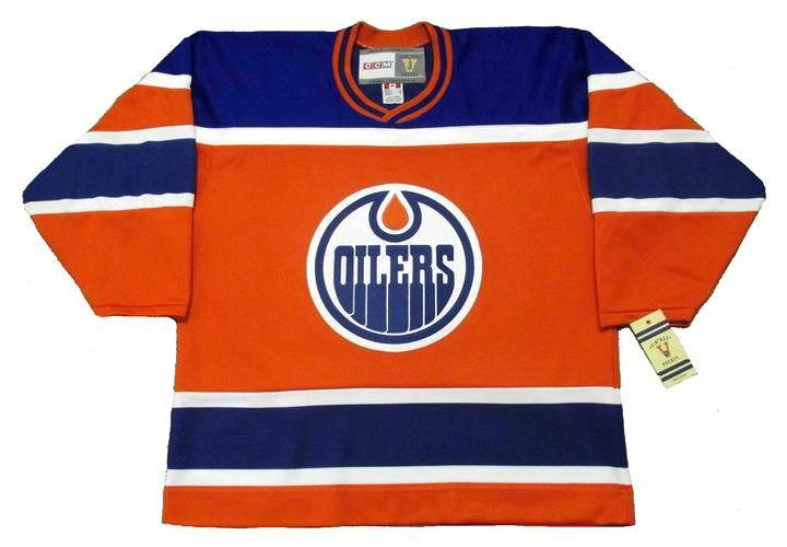 Edmonton Oilers Vintage Home Hockey Jersey CCM - Pastime Sports & Games