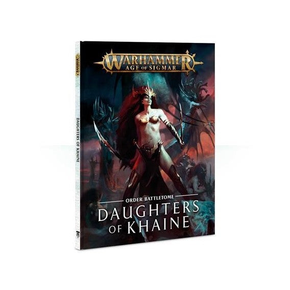 Warhammer Age Of Sigmar Order Battletome Daughters Of Khaine (85-05-60) - Pastime Sports & Games