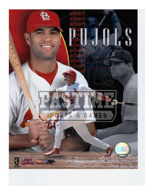 Albert Pujols 8X10 St.Louis Cardinals (Photo Montage) - Pastime Sports & Games
