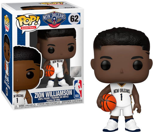 Funko POP! NBA Basketball New Orleans Pelicans Zion Williamson #62 - Pastime Sports & Games