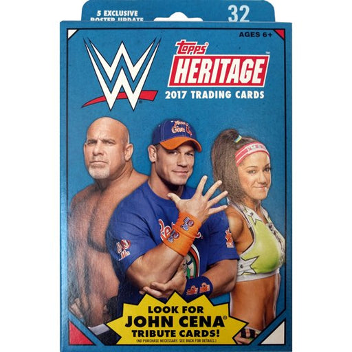 2017 Topps WWE Heritage Hanger Box - Pastime Sports & Games