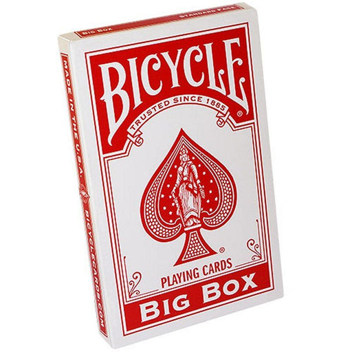 Bicycle Playing Cards: Big Box Red - Pastime Sports & Games