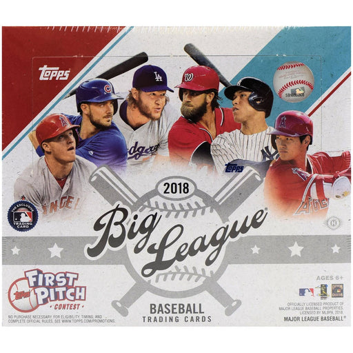 2018 Topps Big Leaque First Pitch Contest