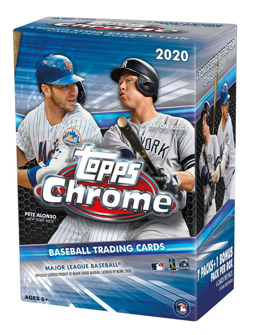 2020 Topps Chrome Baseball Blaster Box - Pastime Sports & Games