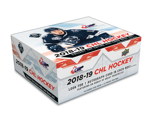 2018/19 Upper Deck CHL Hockey Hobby - Pastime Sports & Games