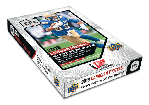 2019  Upper Deck CFL Football Hobby - Pastime Sports & Games