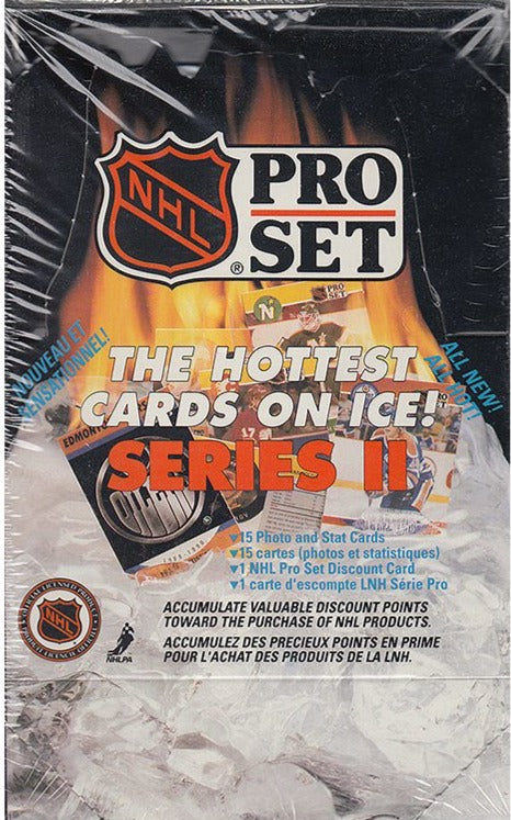 1990-91 Pro Set Series 2 Hockey Hobby - Pastime Sports & Games