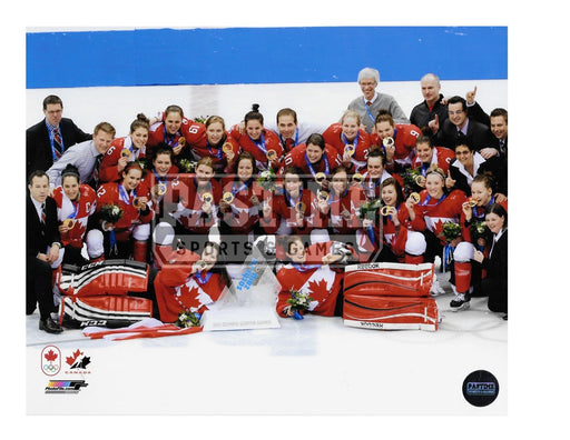 2014 Womens Team Canada Team Photo (On Ice) - Pastime Sports & Games