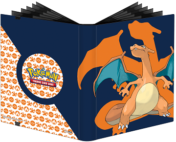 Ultra Pro Pokemon 9PKT Pro-Binder Charizard - Pastime Sports & Games