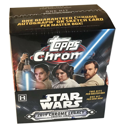 2019 Star Wars Topps Chrome Legacy Box - Pastime Sports & Games
