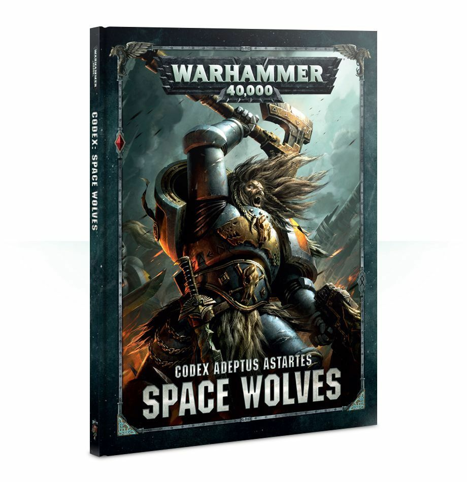 Warhammer 40,000 Codex Space Wolves (53-01-60) - Pastime Sports & Games