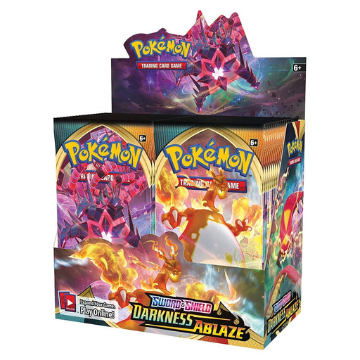 Pokemon Sword & Shield Darkness Ablaze Booster