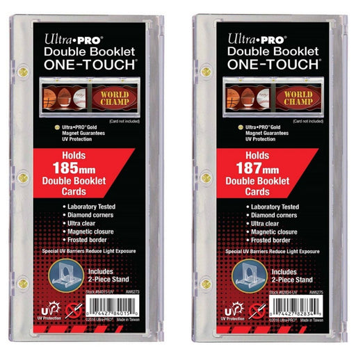 Ultra-Pro Double Booklet One-Touch - Pastime Sports & Games